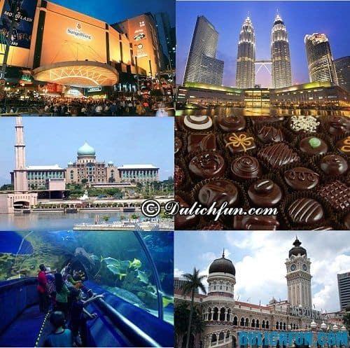 Kinh nghiệm du lịch Kuala Lumpur: Địa điểm du lịch đẹp, nổi tiếng ở Kuala Lumpur