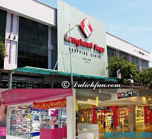 Hướng dẫn du lịch Langkawi tự túc, giá rẻ: Địa chỉ mua sắm ở Langkawi giá rẻ, chất lượng