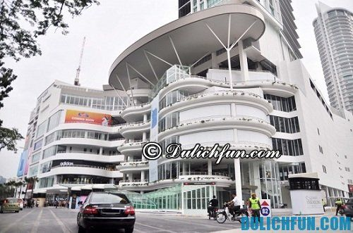 Hướng dẫn du lịch Penang tự túc, giá rẻ: Những địa điểm mua sắm ở Penang