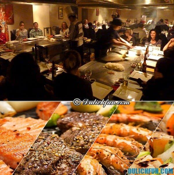 Địa chỉ ăn uống nổi tiếng ở Tokyo. Nơi có nhiều món ăn ngon đặc sản ở Tokyo