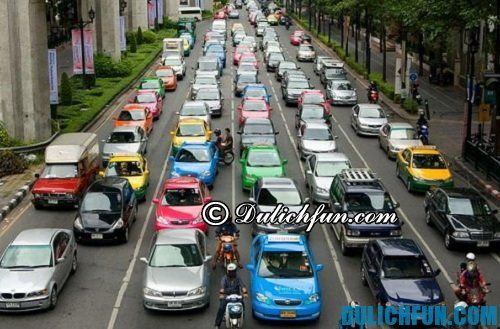 Du lịch ở Thái Lan cần lưu ý điều gì? lưu ý về giao thông ở Thái Lan