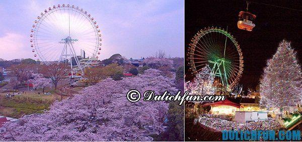 Khu vui chơi được nhiều du khách lựa chọn khi du lịch Tokyo. Chơi ở đâu vui khi đến Tokyo
