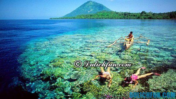 Du lịch Indonesia, tuyển tập những hòn đảo đẹp nhất Indonesia: các hòn đảo xinh đẹp, thơ mộng ở Indonesia