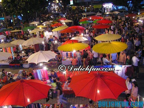 Những khu mua sắm ở Chiang Mai phong phú, giá rẻ, hấp dẫn