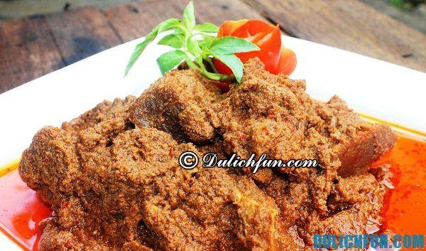 Món ăn truyền thống ngon hấp dẫn ở Indonesia: Tư vấn ăn uống ở Indonesia