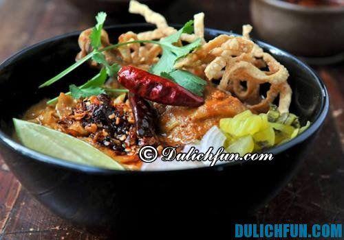 Top những món ăn ngon nổi tiếng, hot nhất ở Chiang Mai