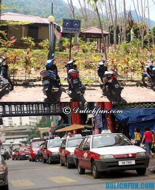 Hướng dẫn du lịch Langkawi chi tiết: những phương tiện di chuyển phổ biến ở Langkawi
