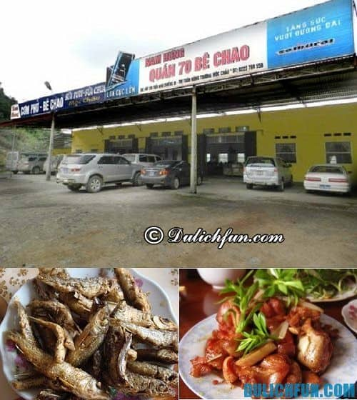 Địa chỉ ăn uống ngon, rẻ ở Mộc Châu: Đặc sản ngon hấp dẫn ở Mộc Châu