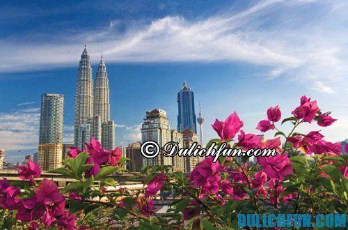 Kinh nghiệm du lịch Kuala Lumpur tự túc, giá rẻ: thời điểm du lịch Kuala Lumpur đẹp, lý tưởng trong năm