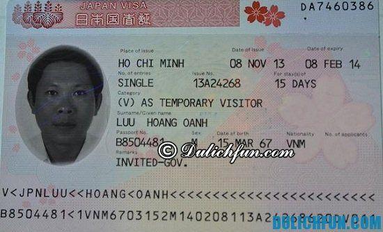 Tư vấn thủ tục xin Visa đi du lịch Nhật Bản đầy đủ, chi tiết nhất - Kinh nghiệm xin visa đi du lịch Nhật Bản