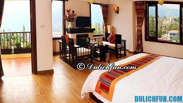 Khách sạn có giá tốt, phòng đẹp ở Sapa