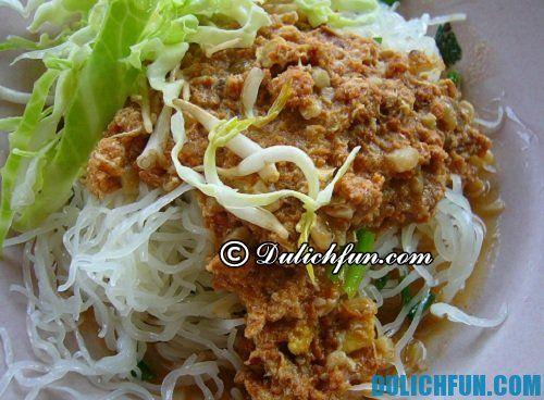 Món ngon nổi tiếng ở Chiang Mai
