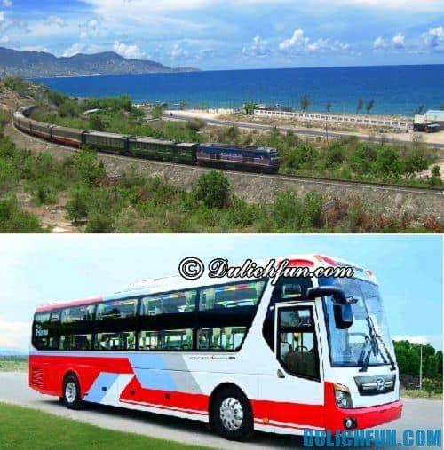 Hành trình du lịch Ninh Thuận 2 ngày: phương tiện đi đến Ninh Thuận