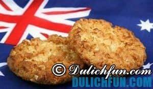 ANZAC Biscuit, món ăn ngon, hấp dẫn và nổi tiếng nhất New Zealand