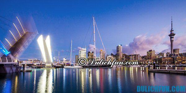 Auckland xinh đẹp, địa điểm du lịch nổi tiếng tại New Zealand, hấp dẫn du khách