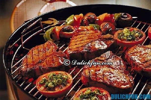 BBQ, top món ăn ngon ở Úc, khám phá ẩm thực Úc tinh tế, thú vị