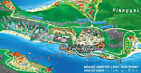Kinh nghiệm du lịch Vinpearl Land Nha Trang - phương tiện đi lại.