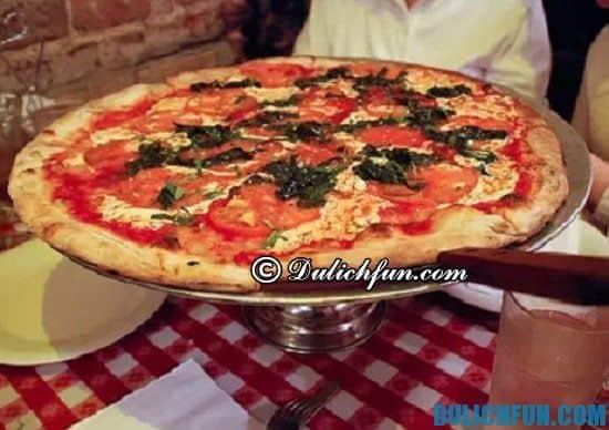 Bánh Pizza, những món ăn ngon, nổi tiếp hấp dẫn ở New York bạn nên thử