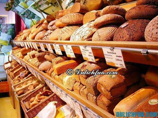 Bánh mì Đức. Đặc sản ở Đức, những món ăn ngon, ẩm thực nổi tiếng ở Đức. Những món ăn nổi tiếng ở Đức