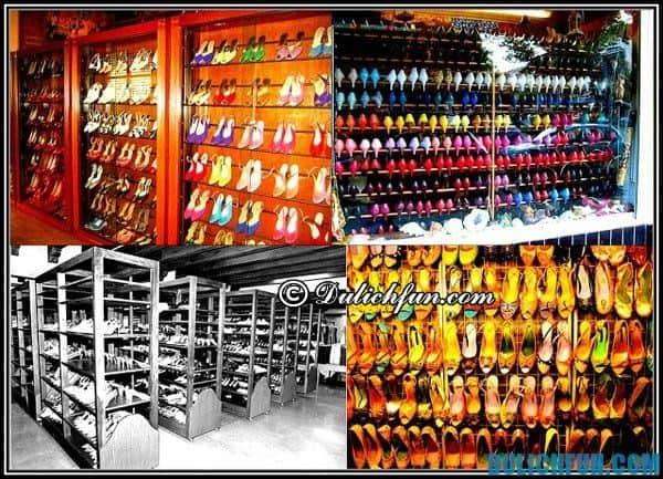 Bảo tàng giày ở Manila, Địa điểm mua sắm nổi tiếng ở Manila