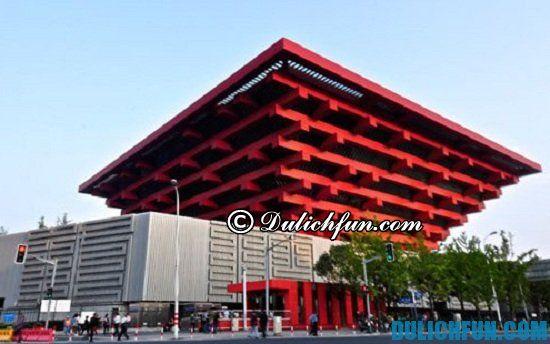 Bảo tàng nghệ thuật Thượng Hải, điểm tham quan du lịch ở Thượng Hải nhất định phải tới