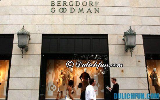Mua sắm ở đâu khi du lịch New York? Bergdorf Goodman, địa chỉ mua sắm giá rẻ, chất lượng ở New York