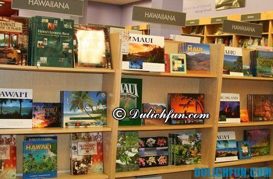 Borders Books, địa điểm mua sắm ở Hawaii bạn không nên bỏ lỡ