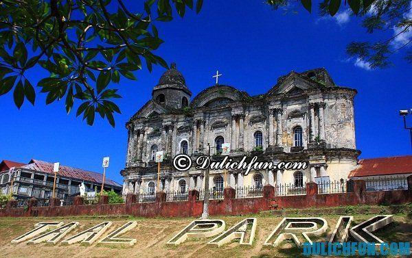 Hướng dẫn du lịch núi lửa Taal ở Tagaytay, Philippines trong 1 ngày: Địa điểm, đi lại, ăn uống...