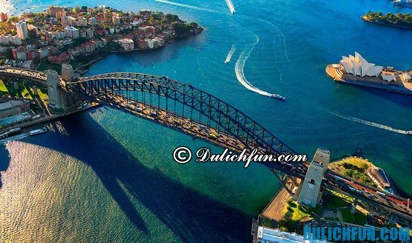 Cầu cảng Sydney, địa điểm du lịch đẹp ở Sydney, địa danh du lịch nổi tiếng Ở Sydney
