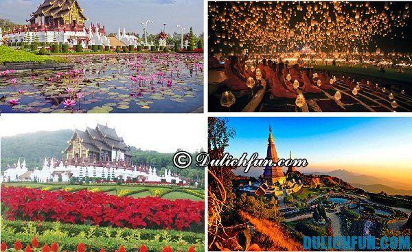Chiang Mai điểm du lịch Bắc Thái Lan đẹp, nổi tiếng