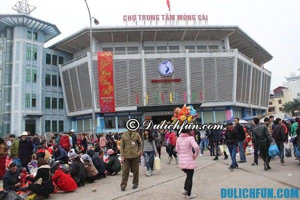 Kinh nghiệm mua sắm ở Hạ Long. NHững khu chợ ở Quảng Ninh
