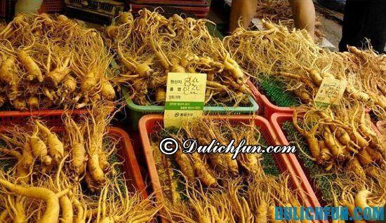 Chợ Namdaemun, địa điểm mua nhân sâm chất lượng ở Hàn Quốc