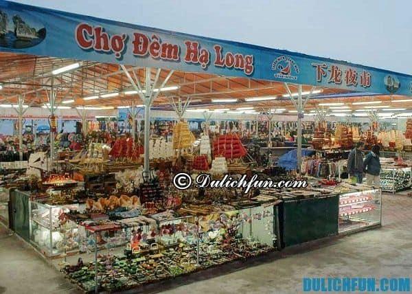 Điểm mua sắm giá rẻ ở Hạ Long. Kinh nghiệm mua sắm ở Hạ Long