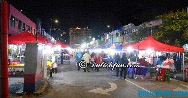 Chợ đêm ở Langkawi. Du lịch Langkawi nên mua sắm ở đâu?