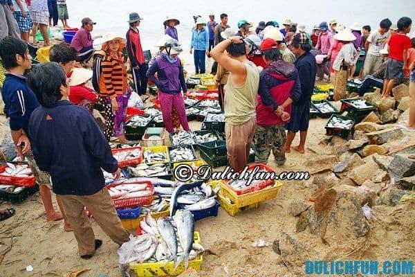 Chợ hải sản Mũi Kê Gà- Kinh nghiệm du lịch, phượt Mũi Kê Gà