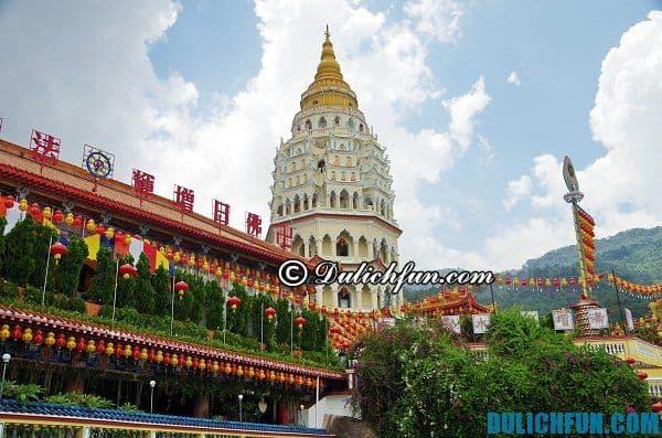 Những điểm du lịch đẹp nổi tiếng ở Penang