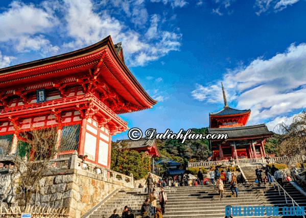 Kinh nghiệm du lịch Kyoto. Những điểm du lịch đẹp nổi tiếng ở Kyoto
