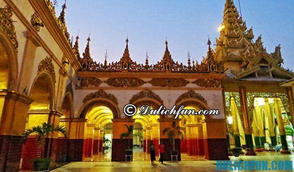 Chùa Mahamuni- tham quan những ngôi chùa nổi tiếng tại Myanmar, những ngôi chùa đẹp, hấp dẫn ở Myanmar