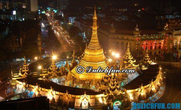 Chùa Sule ở Myanmar- ghé thăm những ngôi chùa nổi tiếng đẹp ở Myanmar, chùa chiền đẹp ở Myanmar