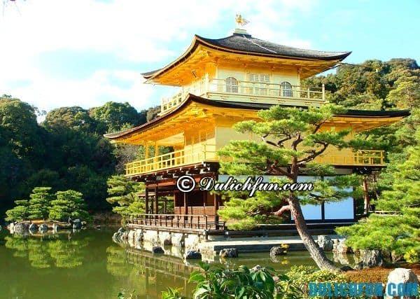 Kinh nghiệm du lịch Kyoto. Những điểm tham quan đẹp ở Kyoto