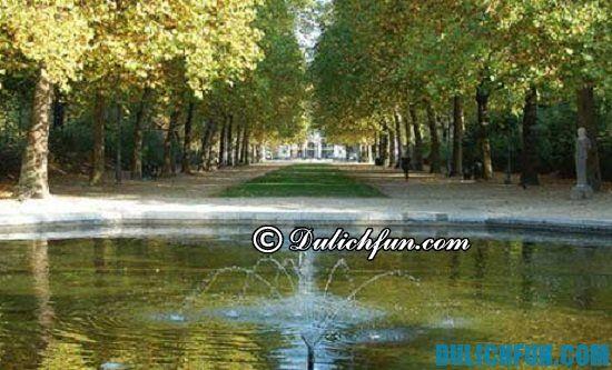 Kinh nghiệm du lịch Bỉ - Chơi đâu khi du lịch Bỉ? Công viên Brussels, địa điểm tham quan nổi tiếng ở Bỉ