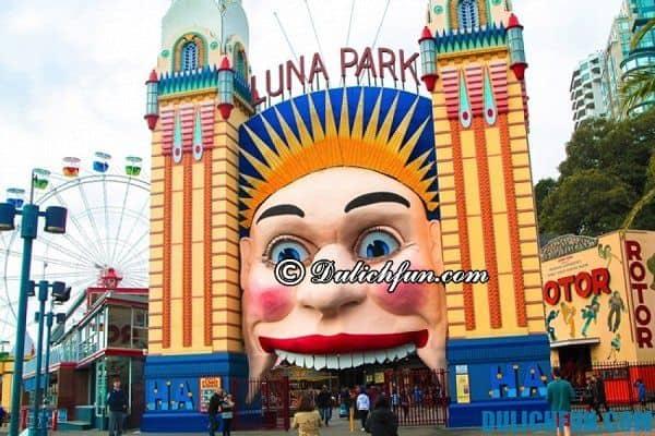 Công viên Luna, điểm dừng chân tuyệt vời ở Sydney. Điểm du lịch Sydney đẹp, nổi tiếng