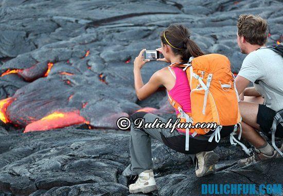 Công viên núi lửa quốc gia, điểm tham quan nổi tiếng ở Hawaii. Khám phá các điểm du lịch Hawaii
