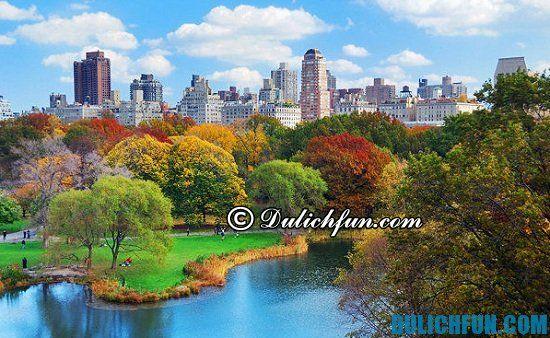 Công viên trung tâm, địa điểm tham quan, du lịch đẹp, nổi tiếng ở New York nhất định phải đi