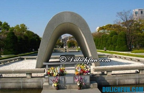 Đi đâu khi du lịch Hiroshima? Công viên tưởng niệm hòa bình, địa điểm tham quan, du lịch nổi tiếng nhất ở Hiroshima