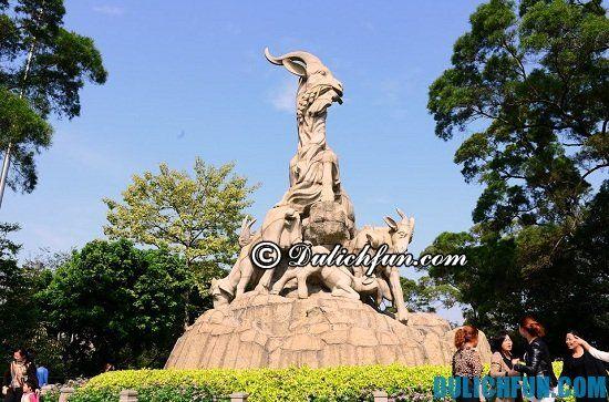 Chơi đâu khi du lịch Quảng Châu? Công viên Việt Tú, điểm tham quan, du lịch ở Quảng Châu