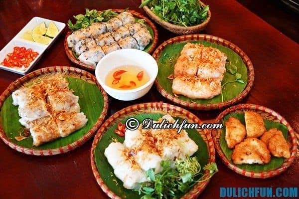 Những món ăn ngon hấp dẫn ở Hạ Long