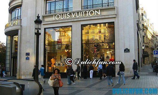 Đại lộ Champs Élysées, địa chỉ mua sắm nổi tiếng ở Paris hàng hiệu, chính hãng - Kinh nghiệm du lịch Paris