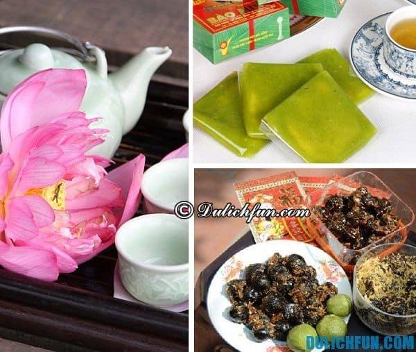 Mua quà khi du lịch Hà Nội