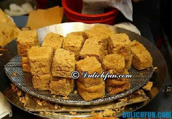 Đậu hũ thối, một trong những món ăn ngon, đặc sản ở Quảng Châu